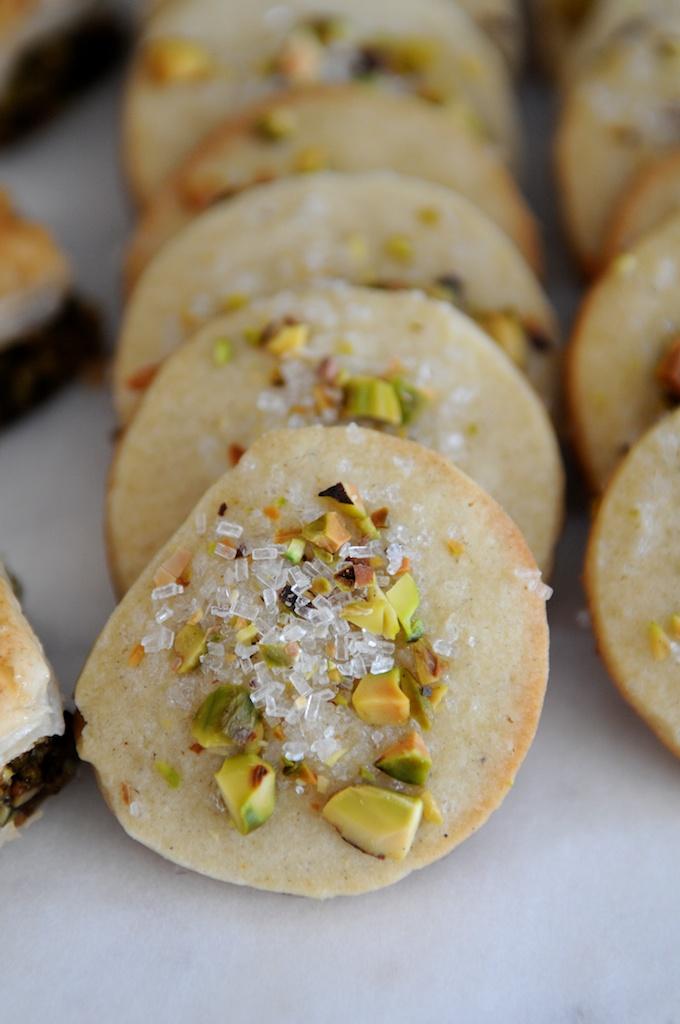Cardamom Pistachio Cookies