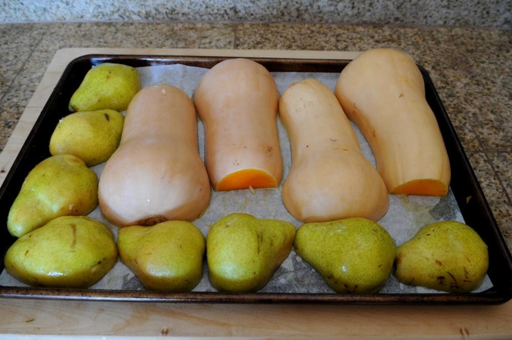 Butternut & pears