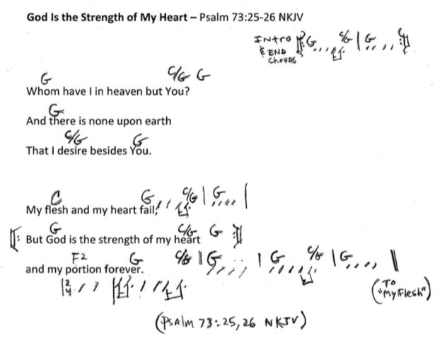 Psalm 73:25-26 NKJV