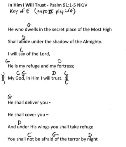 Psalm 91:1-5 NKJV