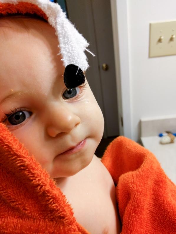 Post bath cutie