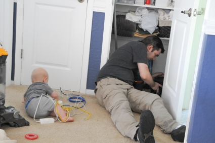 Helping daddy fix the internet