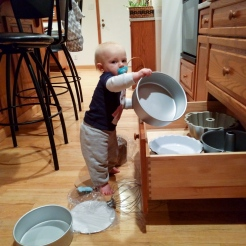 Discovered some of the baking pans.