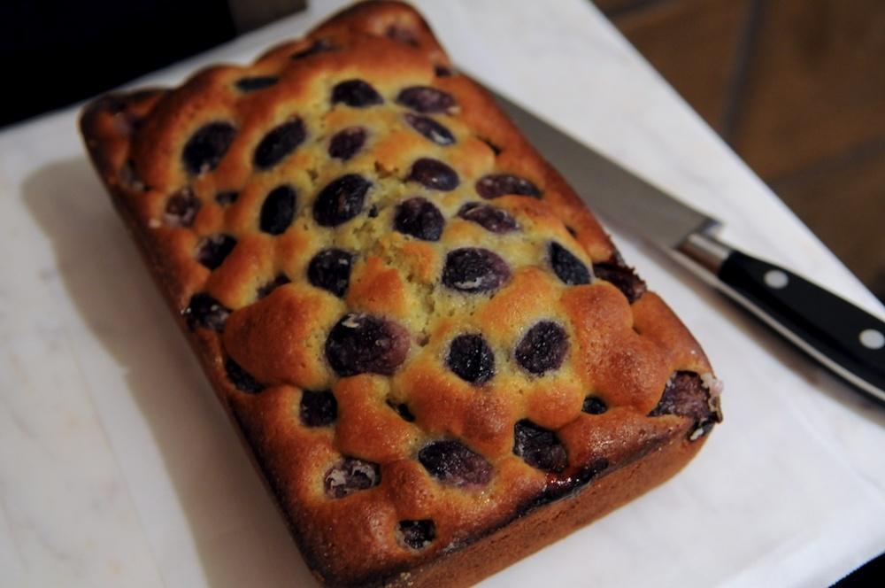Harvest grape & olive oil cake